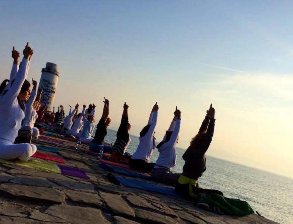 Yoga Intensive in Greece 2014