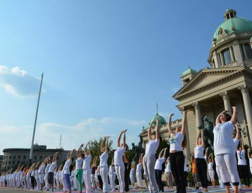 The Great Yoga Performance in Belgrade, 2015
