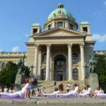 The Great European Yoga Performance in Belgrade 2015