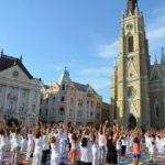 The Great Yoga Performance in Novi Sad, 2015