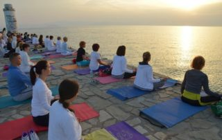 Yoga Retreat by the Sea, Greece 2014