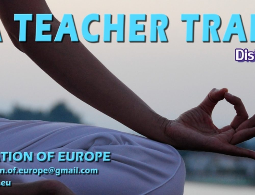 Yoga Teacher Training – Distance learning