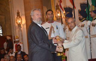 Prof. Predrag Nikic, Padma Awards 2016