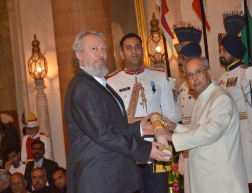 Prof. Predrag Nikic has been awarded with Padma Shri Award