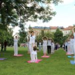 International day of Yoga in Prague