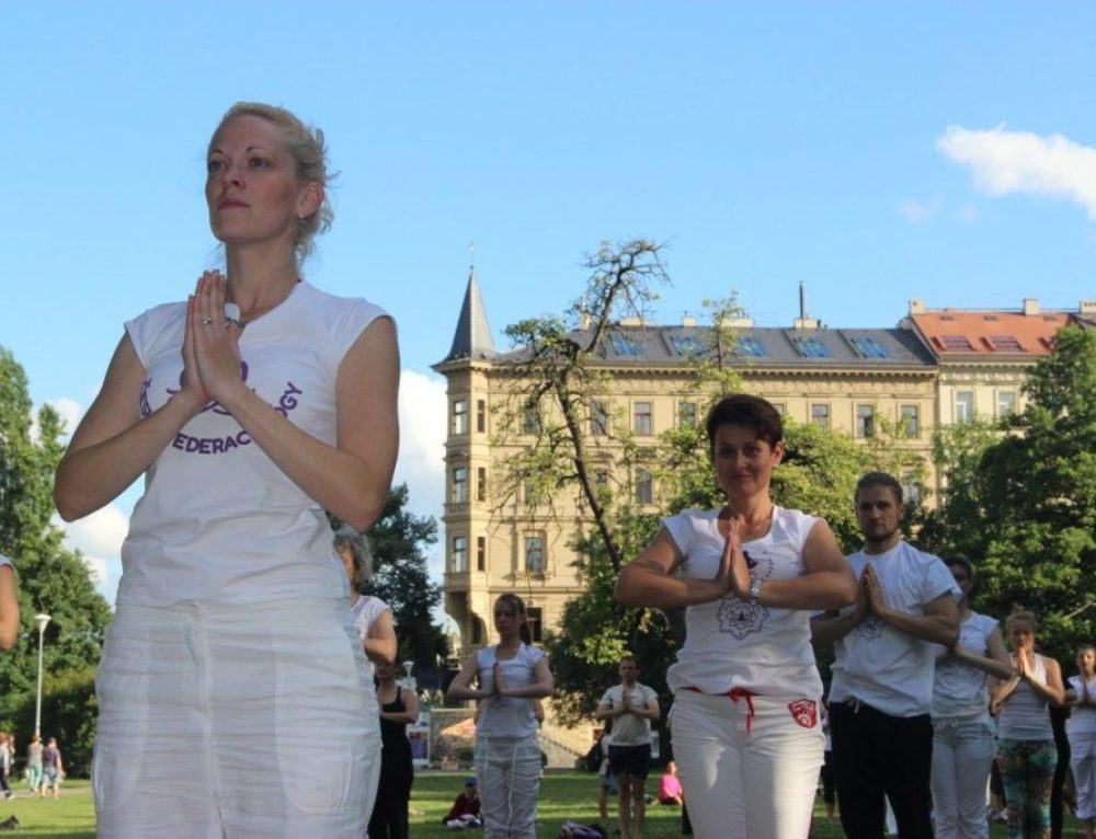 The Grand Yoga Performance in Prague 2017