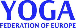 Yoga Federation of Europe Mobile Retina Logo