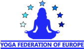 Yoga Federation of Europe Mobile Retina Logo