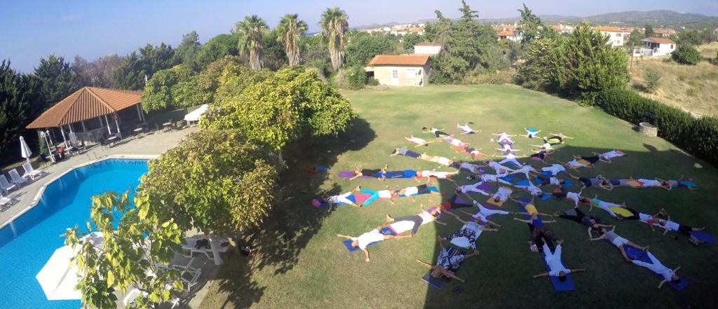 yoga retreats by the sea