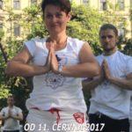 Bezplatné lekce jógy - Cvicte jogu s nami v Parku na Kampe, Praha 1 - 2017