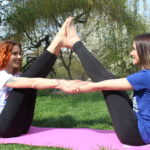 Practice yoga with us in Prague at Kampa Park