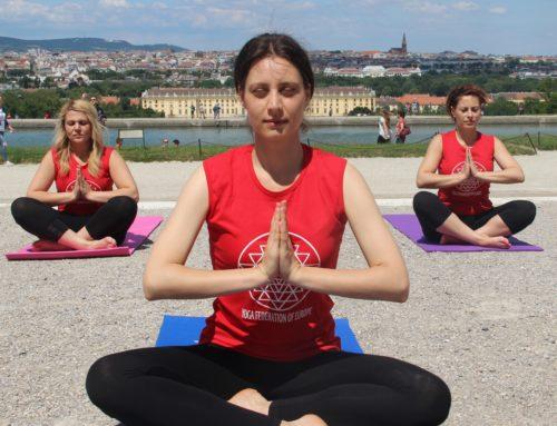 Die Große Yoga Performance in Wien – 2017