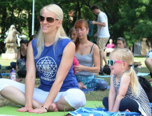 Akce Cvičte jógu s námi 2017 úspešne ukončená
