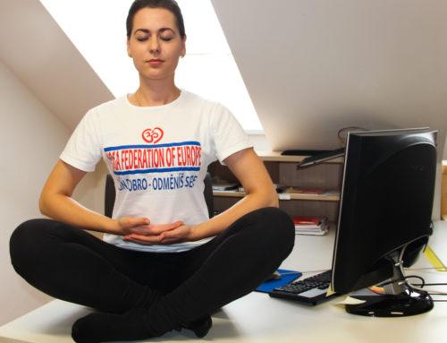 Korporativní jóga