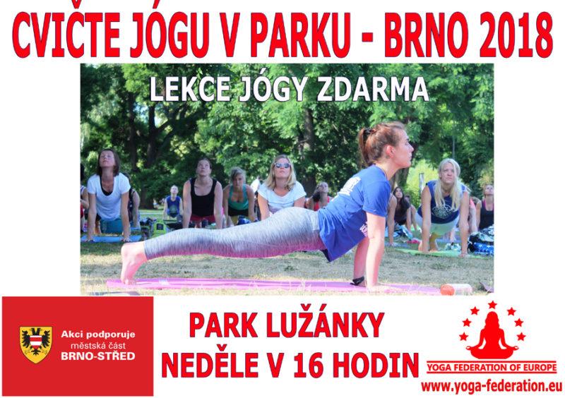 Cvicte jogu s nami Brno