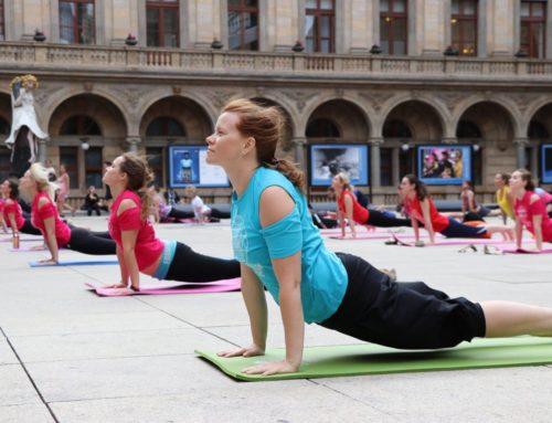 Velké evropské jógové představení v Praze, 2019