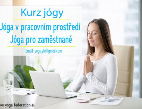 Korporativní jóga – kurs určený instruktorům jógy