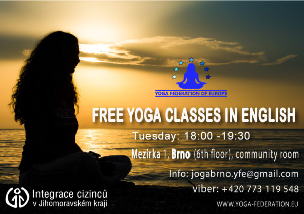 Free Yoga classes Brno