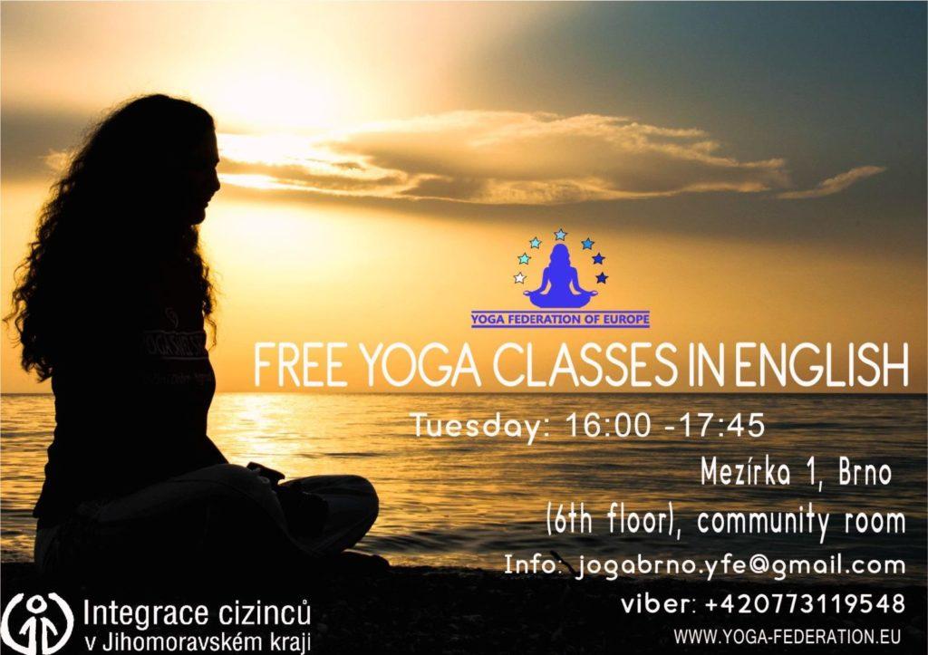 Yoga classes Brno
