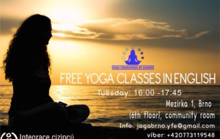 Yoga classes Brno
