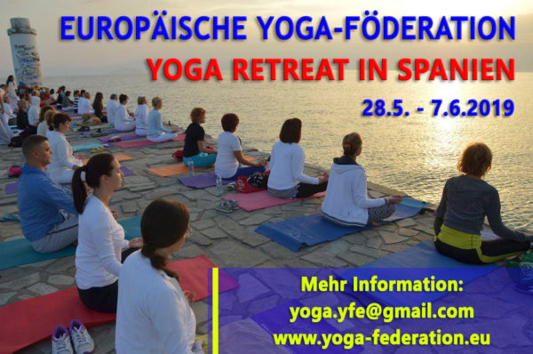 Yoga Retreat in Spanien 2019
