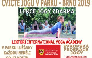 Cvicte jogu s nami v Brne