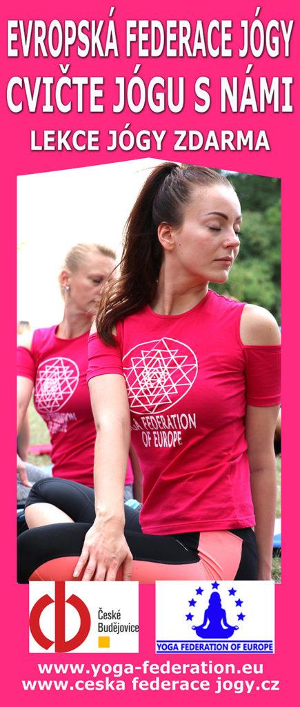 Cvicte jogu s nami v Ceskych Budejovicich ZDARMA