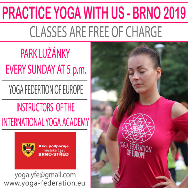Practice Yoga with us in Brno