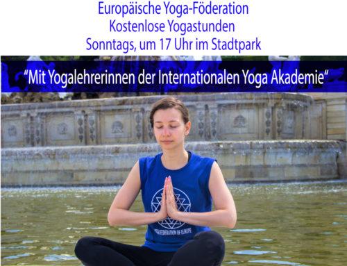 Yoga im Park – Wien 2019