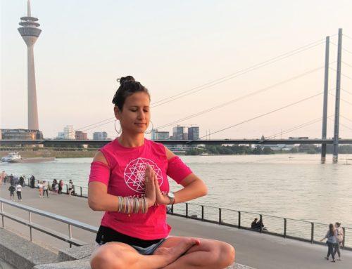 Kostenlose Yogastunde in Düsseldorf