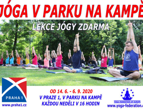 Yoga at Kampa Park – Practice yoga with us 2020