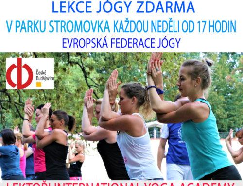 Lekce jógy zdarma v Českých Budějovicích – Cvičte jógu s námi