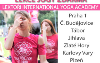 Joga v parcich 2020 - Yoga Federation of Europe