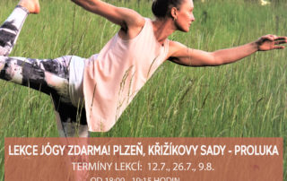 Lekce jogy zdarma , Plzen