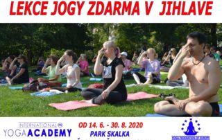 Lekce jogy zdarma v Jihlave