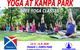 yoga at kampa park - free yoga classes