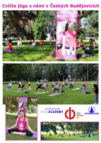 Cvicte jogu s nami v Českych Budejovicich - foto