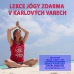 Lekce jogy zdarma v Karlovych Varech